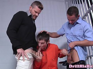Muscular landon conrads bj for inmate