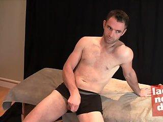 Randy Gay Guy Solo Masturbation