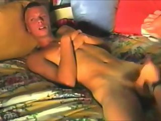 Twink Squirms Getting Handjob