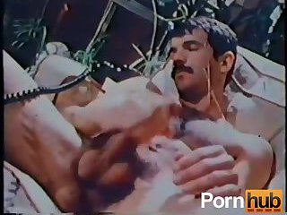 Vintage Gay Guy Beating Off