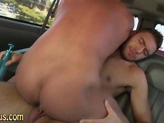 Newly turned amateur slams ass