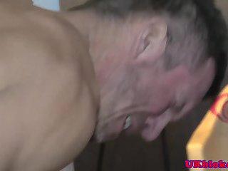 Muscular british bad boys fuck at night