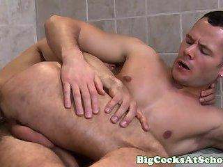 Big cock John Magnum wrecks buddy Valentin Petrov butt