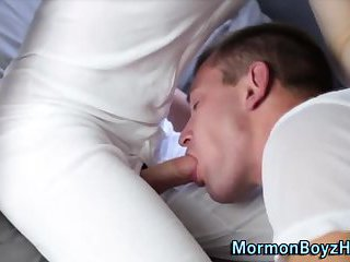 Mormon elders suck dicks