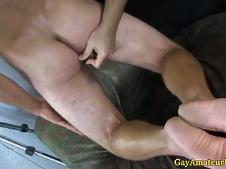 Straight Twink Amateurs Toying Their Ass