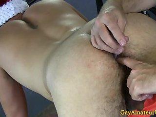 Yummy boys toying fucking