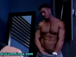 Cody cummings tugs cock shoots load