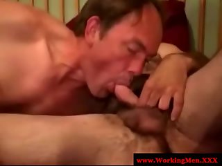 Mature southern redneck mature sucking