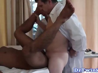Asian twink patient fucked by his doctor
