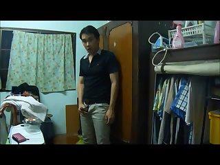 Asian Webcam Guy Whacking Off