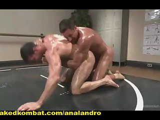 Huge Muscles, Raging Hard Cock and Don't Forget the Oil