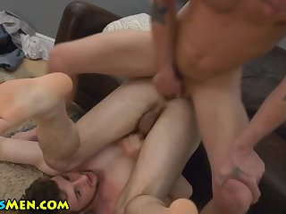 Blowing stud fuck and cum