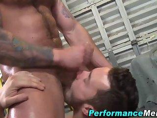 Amazing bj gets bears cum