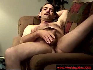 Straight bear mature friends solo fun