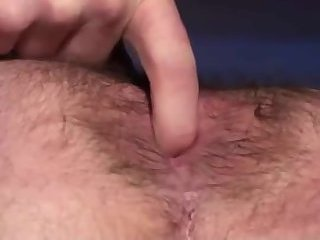 Gay hairy ass fingered