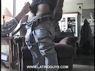Amateur boy gets his dick blowjed