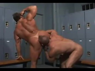 Naughty beefy guys ass pounding