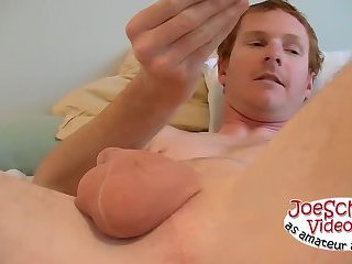 Hot bisexual John has a little experience with guys