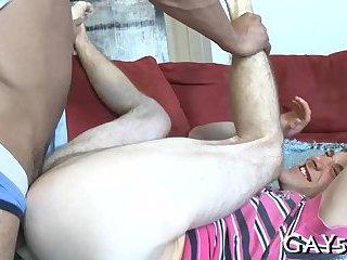 Taste of the monster cock
