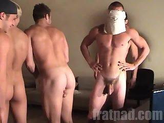 Beefy Guys Bondage Party
