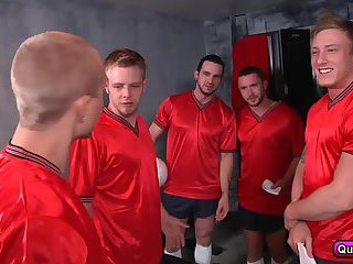 Colt Rivers,Phenix Saint,Rob Ryder,Steve Stiffer,Tom Faulk a horny team of players