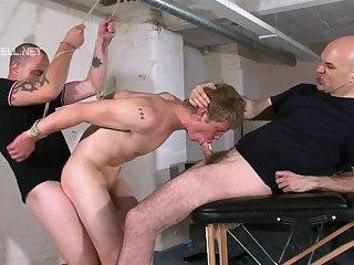 Bondaged Charlton Gets Ass Laid