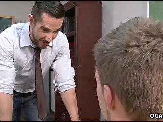A Teacher's Crush on a handsome student