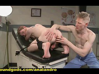 BDSM Series of Medical Tests on Big Cock and Gay Ass