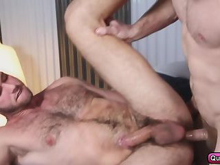 Jimmy Fanz gets pounded in the massage room by Colby Keller
