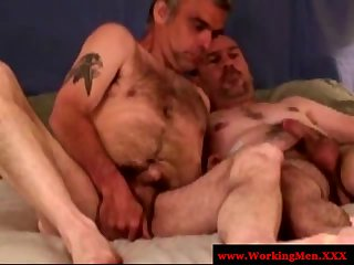 Straight Redneck Matures Love Cock Orally