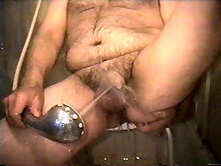 Fat Guy Showering