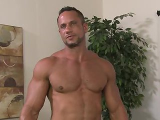 Muscle studs sucking banging