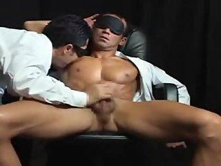 Asian Guy Gets Handjob