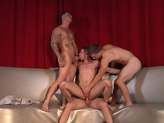 Cameron Knight, Duncan Black, Jimmy Johnson & Sebastian