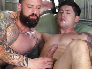 Jordan Levine & Greg Jameson cock ride