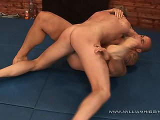 Tomas vs Lukas Wrestling