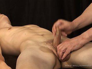 Jakub Frydl Gets Massage