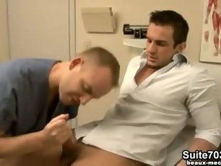 Prostate Check and Fuck Hot Bear Patient