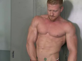 Max London Tugging Cock