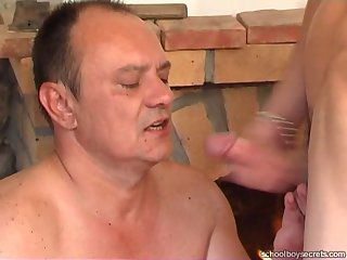 Busty piladyboy throating lucky dudes cock