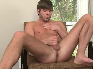 Shawn Young Tugging Cock