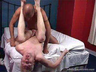 Doing a sporty boy