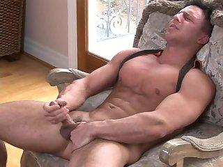 Reese Tugging Hard Dick