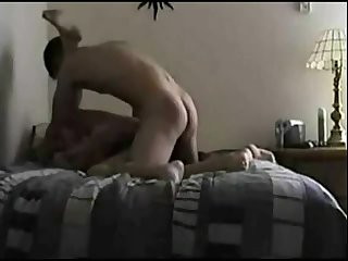 Homemade Amateur Fucking On Made Bed