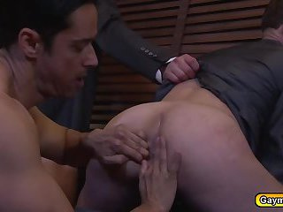 Foursome twinks sucks and fucks anal shooting loads