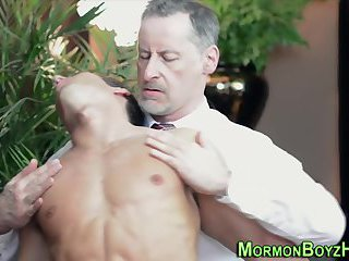 Mature mormon jerks hunk