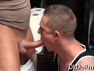 Two hot gays arrange a sex party