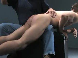Frist otk spanking on the screen
