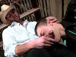 Cowboys hunks sucking & fucking