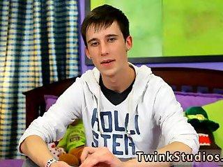 Cute teen gay solo
